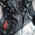 Merciless Death - Battle Jacket - Faux leather vest