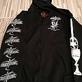 Goatvomit - Church of the Goat Baphomet Hooded Top