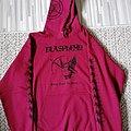 Blasphemy - Fallen Angel of Doom Hoodie Red Hooded Top