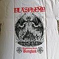 Blasphemy - Bangkok Tourshirt 2018 seize L white