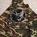 Blasphemy - Fallen Angel Camouflage  Hooded Top