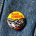 Iron Maiden pin