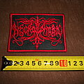 Necrophobic - Patch - Necrophobic - logo embroidered patch