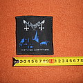 Mayhem - Patch - Mayhem - De Mysteriis Dom Sathanas - printed patch