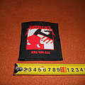 Metallica - Patch - Metallica - Kill'em All - printed patch