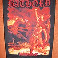 Bathory - Patch - Bathory - Hammerheart - printed backpatch