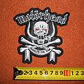 Motörhead - Patch - Motörhead - March Ör Die - embroidered patch