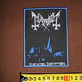Mayhem - Patch - Mayhem - De Mysteriis Dom Sathanas - woven patch