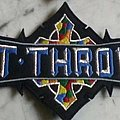 Bolt Thrower logo back patch wanted