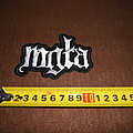 Mgła - logo embroidered patch