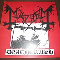 Mayhem - Tape / Vinyl / CD / Recording etc - Mayhem - Deathcrush - clear vinyl
