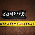 Kampfar - logo embroidered patch