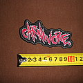 Carnivore - Patch - Carnivore - logo embroidered patch