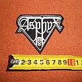 Asphyx - Patch - Asphyx - logo embroidered patch
