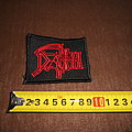 Death - Patch - Death - logo embroidered patch