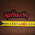 Satyricon - Patch - Satyricon - logo embroidered patch