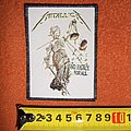Metallica - Patch - Metallica - ...And Justice For All - woven patch