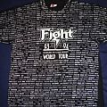 TShirt or Longsleeve - Fight - War of Words 93-94 tour all-over