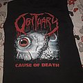 Obituary - Cause of Death top TShirt or Longsleeve