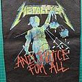 Metallica J4A BP Patch