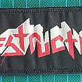 Destruction - Patch - Destruction Logo