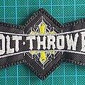 Bolt Thrower White Logo Patch