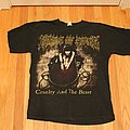Cradle Of Filth - TShirt or Longsleeve - Cruelty and The Beast