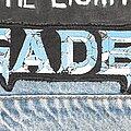Megadeth - Patch - Megadeth logo back patch (Serigraphy)