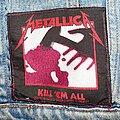 Metallica - Patch - Metallica - Kill 'em All patch