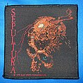 Sepultura - Patch - Sepultura - Beneath the Remains patch