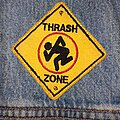 D.R.I. - Patch - D.R.I. - Thrash Zone patch