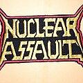 Nuclear Assault - Patch - Nuclear Assault logo patch