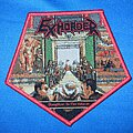 Exhorder - Patch - Exhorder - Slaughter in the Vatican patch