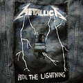 Metallica - Patch - Metallica - Ride the Lightning back patch (painted)