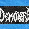 Demolatra - Patch - Demolatra logo patch