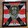 S.O.D. - Patch - S.O.D. Speak english or die Patch