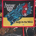 Accept - Patch - Accept Balls to the wall red border patch
