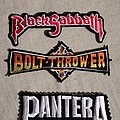 Bolt Thrower - Patch - Bolt Thrower, Pantera, Black Sabbath