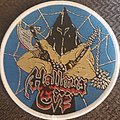 Hallows Eve - Patch - Hallows eve tales of terror white border circular patch
