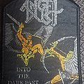 Angel Dust - Patch - Angel dust into the dark past black border patch