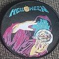 Helloween - Patch - Helloween keepers circular black borderd patch
