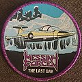 Messiah Force - Patch - Messiah force last day purple glitter border circular patch