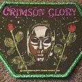 Crimson Glory - Patch - Crimson glory green glitter border patch
