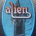 Alien - Patch - Alien blue border oval patch