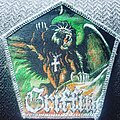 Griffin - Patch - Griffin flight of the griffin  silver glitter patch