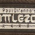 Paul Dianno Battlezone - Patch - Paul diannos battlezone logo patch