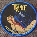 Trance - Patch - Trance power infusion blue border circular patch