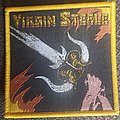 Virgin Steele - Patch - Virgin steele Guardian of the flame yellow border patch