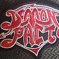 Demon Pact - Patch - Demon pact logo patch