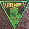 Randy - Patch - Randy triangle Green border patch
